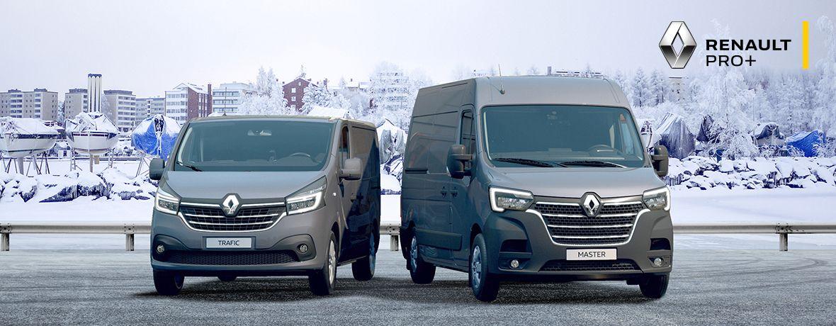 Renault tavara-auto pakettiauto Master Trafic